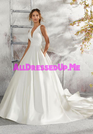 Blu - Laurie - 5684 - Cheron's Bridal, Wedding Gown - Morilee - - Wedding Gowns Dresses Chattanooga Hixson Shops Boutiques Tennessee TN Georgia GA MSRP Lowest Prices Sale Discount