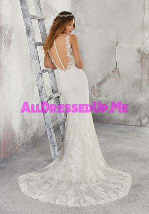 Blu - Leia - 5685 - Cheron's Bridal, Wedding Gown - Morilee - - Wedding Gowns Dresses Chattanooga Hixson Shops Boutiques Tennessee TN Georgia GA MSRP Lowest Prices Sale Discount
