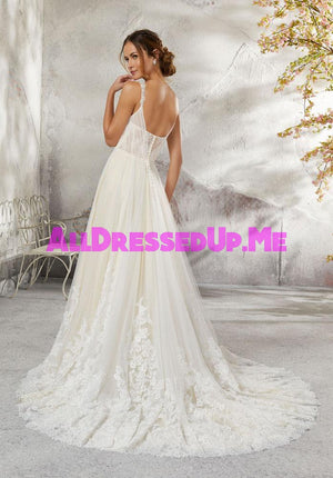 Blu - Lena - 5693 - Cheron's Bridal, Wedding Gown - Morilee - - Wedding Gowns Dresses Chattanooga Hixson Shops Boutiques Tennessee TN Georgia GA MSRP Lowest Prices Sale Discount