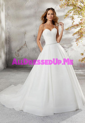 Blu - Laurissa - 5696 - Cheron's Bridal, Wedding Gown - Morilee - - Wedding Gowns Dresses Chattanooga Hixson Shops Boutiques Tennessee TN Georgia GA MSRP Lowest Prices Sale Discount