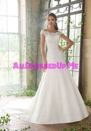 Blu - Phyllis - 5717 - All Dressed Up, Bridal Gown - Morilee - - Wedding Gowns Dresses Chattanooga Hixson Shops Boutiques Tennessee TN Georgia GA MSRP Lowest Prices Sale Discount