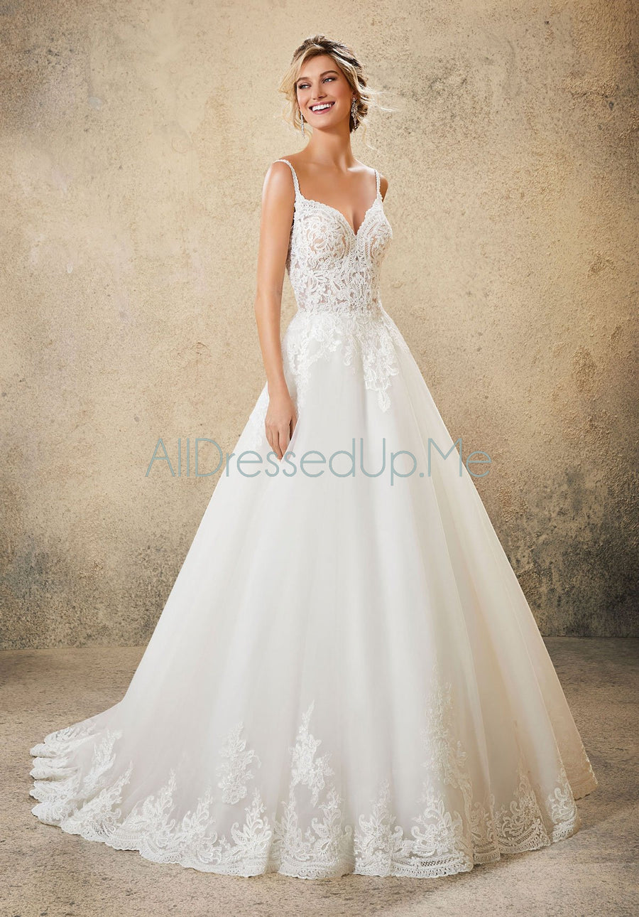 Blu - Rosmerta - 5761 - All Dressed Up, Bridal Gown - Morilee - - Wedding Gowns Dresses Chattanooga Hixson Shops Boutiques Tennessee TN Georgia GA MSRP Lowest Prices Sale Discount