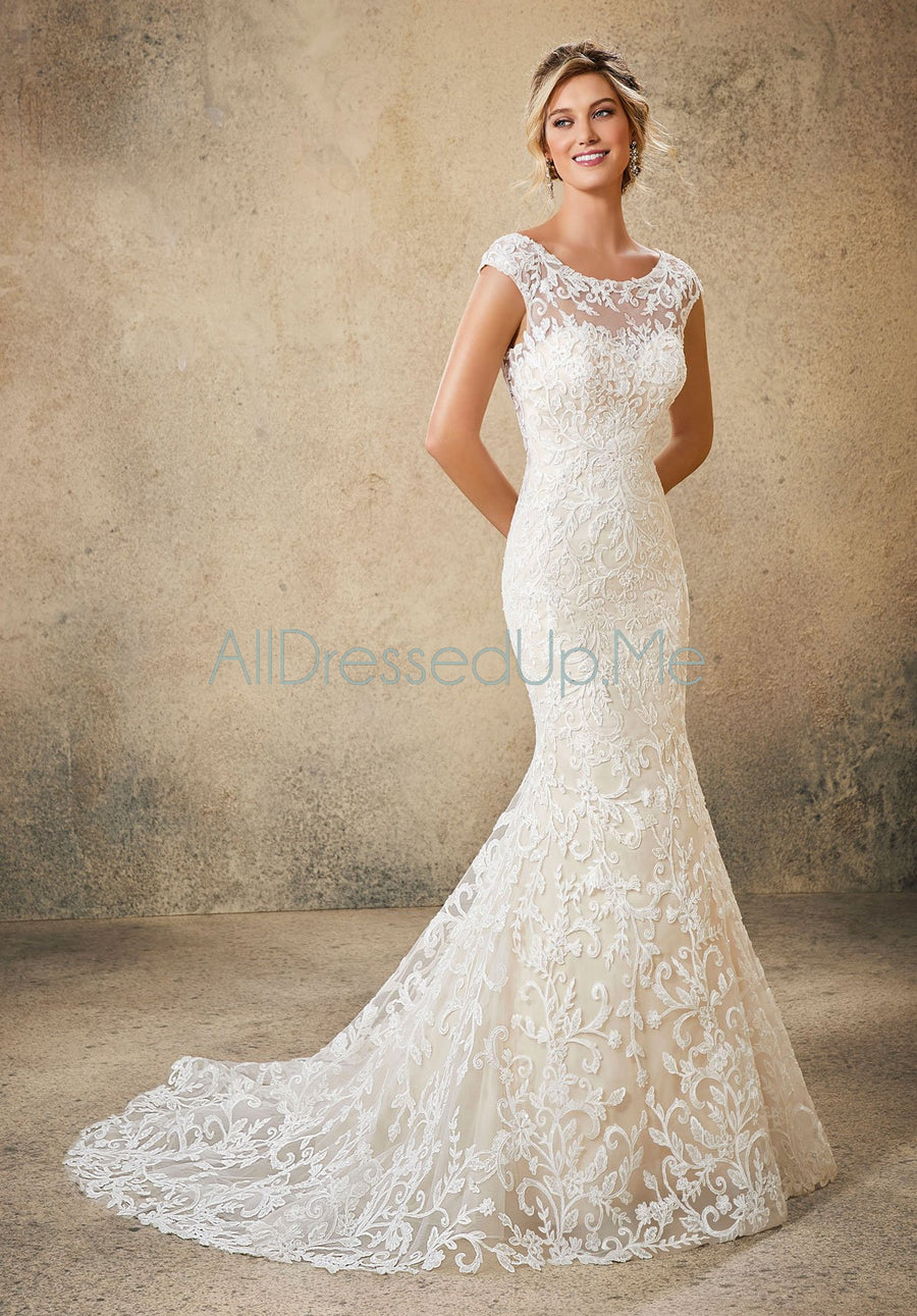 Blu - Rue - 5762 - All Dressed Up, Bridal Gown - Morilee - - Wedding Gowns Dresses Chattanooga Hixson Shops Boutiques Tennessee TN Georgia GA MSRP Lowest Prices Sale Discount