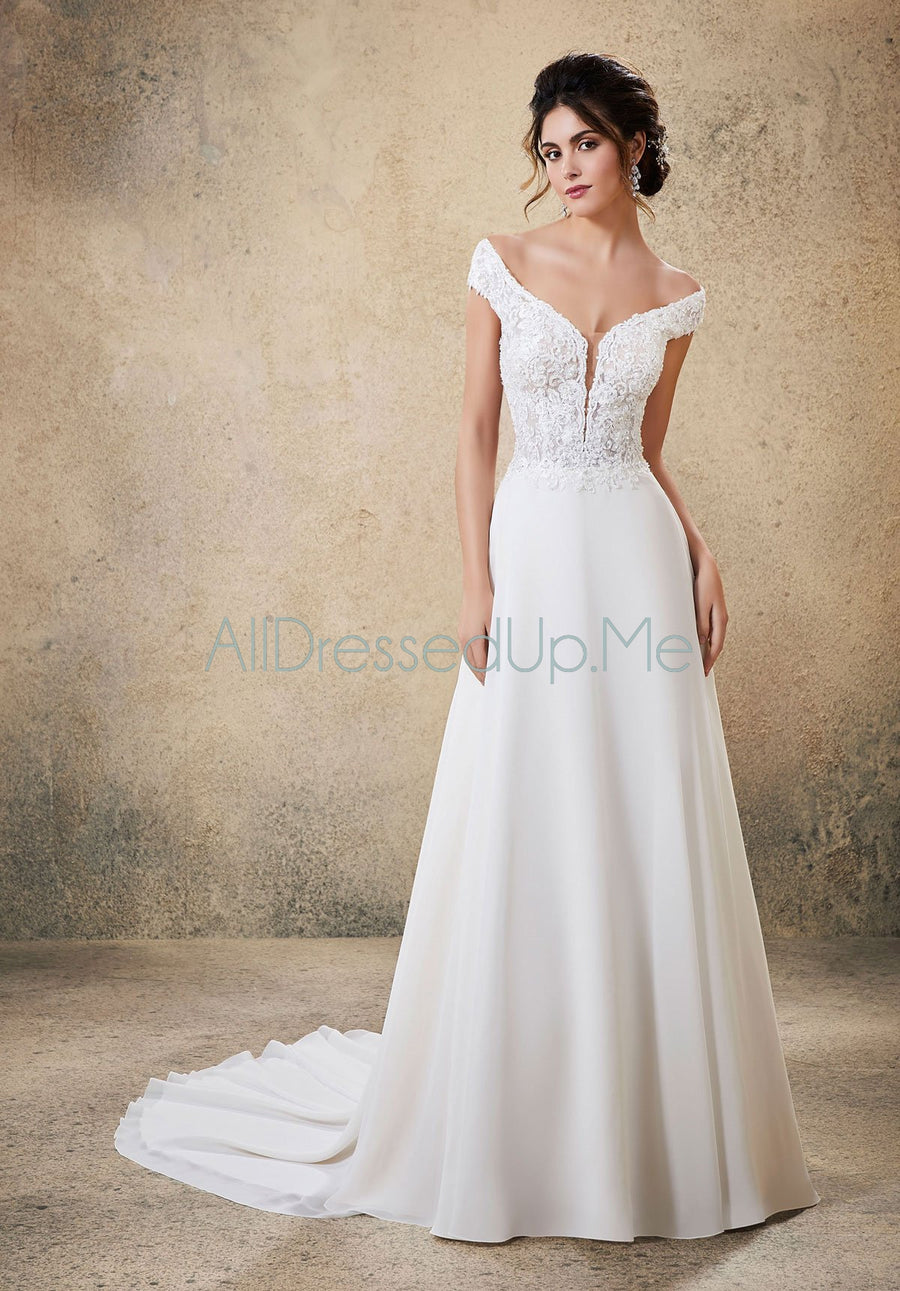 Blu - Raelynn - 5764 - All Dressed Up, Bridal Gown - Morilee - - Wedding Gowns Dresses Chattanooga Hixson Shops Boutiques Tennessee TN Georgia GA MSRP Lowest Prices Sale Discount