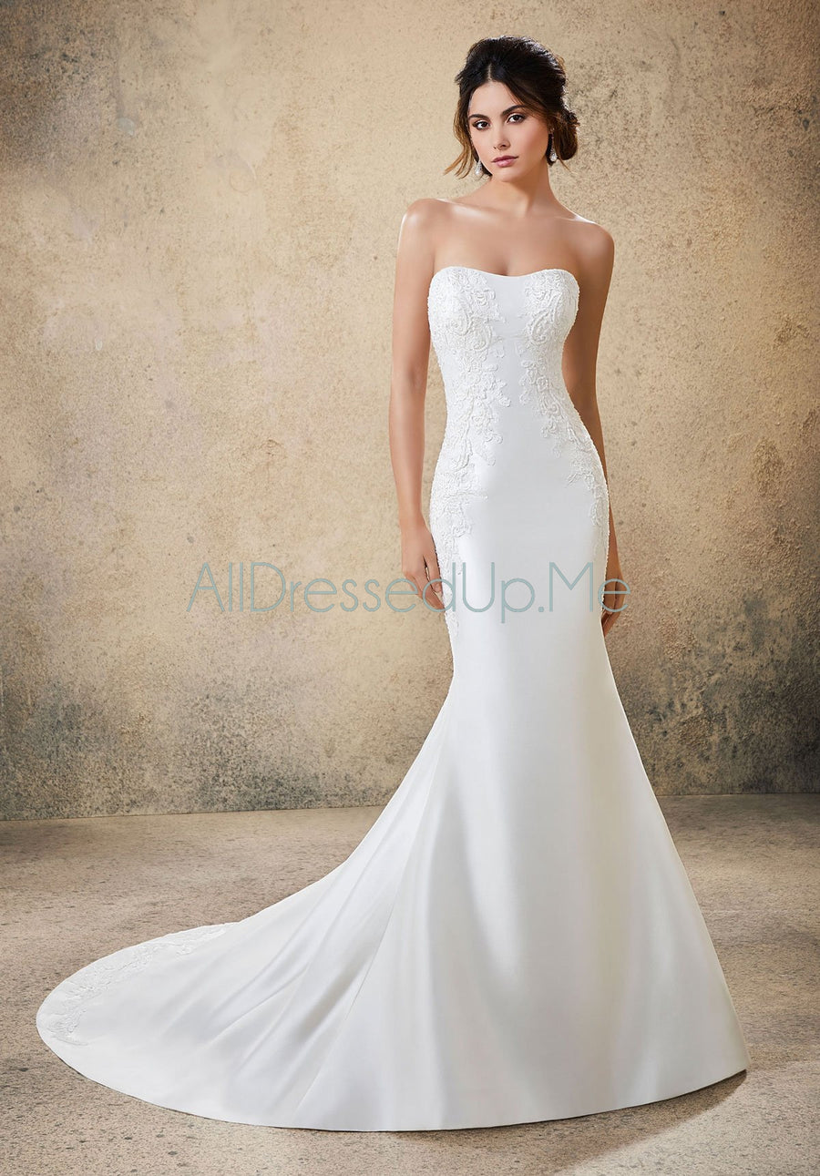 Blu - Reese - 5766 - All Dressed Up, Bridal Gown - Morilee - - Wedding Gowns Dresses Chattanooga Hixson Shops Boutiques Tennessee TN Georgia GA MSRP Lowest Prices Sale Discount