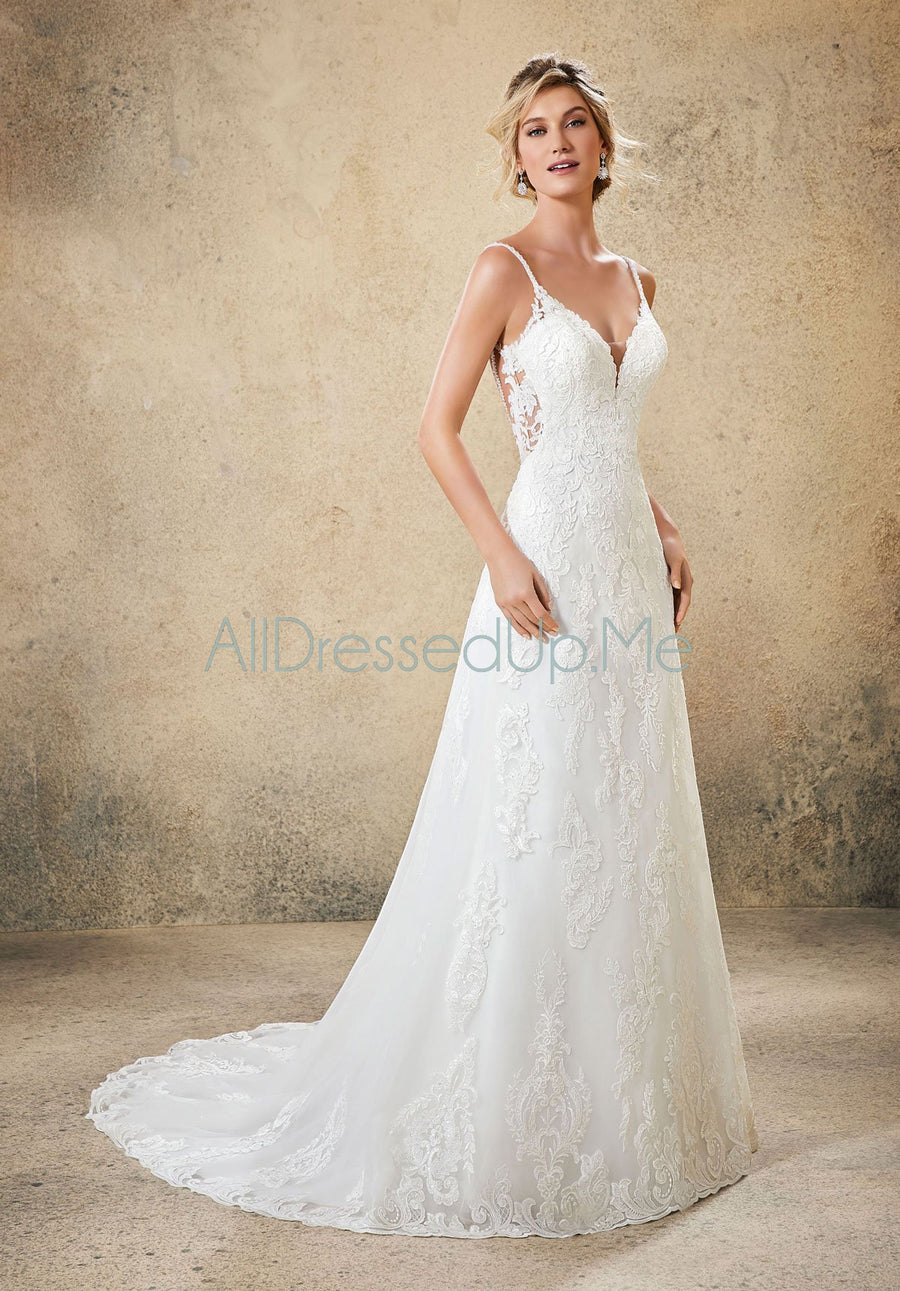 Blu - Ryanne - 5767 - All Dressed Up, Bridal Gown - Morilee - - Wedding Gowns Dresses Chattanooga Hixson Shops Boutiques Tennessee TN Georgia GA MSRP Lowest Prices Sale Discount