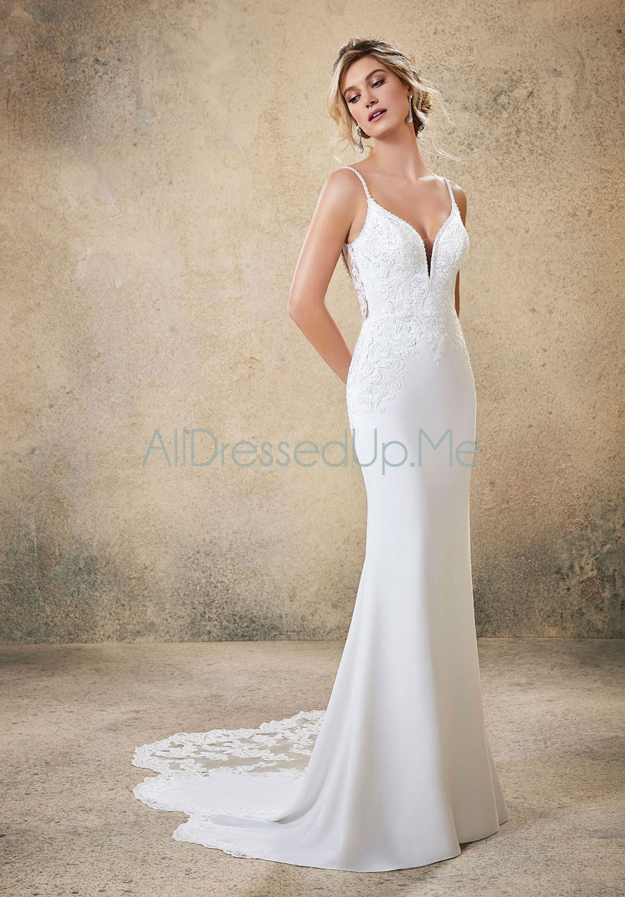 Blu - Rasia - 5773 - All Dressed Up, Bridal Gown - Morilee - - Wedding Gowns Dresses Chattanooga Hixson Shops Boutiques Tennessee TN Georgia GA MSRP Lowest Prices Sale Discount