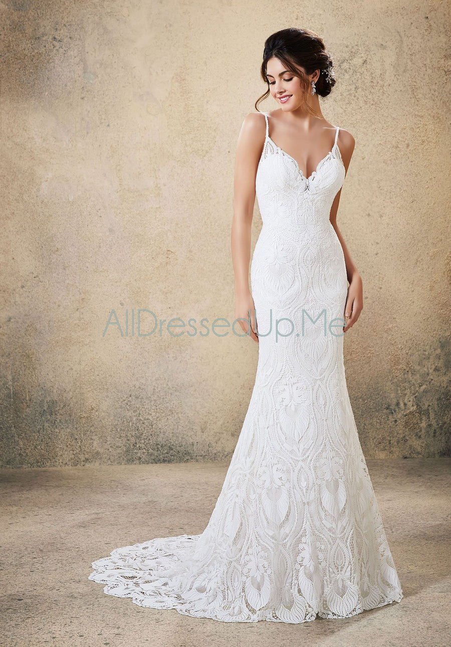 Blu - Riley - 5775 - Cheron's Bridal, Wedding Gown - Morilee - - Wedding Gowns Dresses Chattanooga Hixson Shops Boutiques Tennessee TN Georgia GA MSRP Lowest Prices Sale Discount