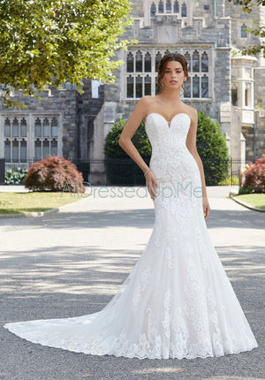 Blu - Shoshanna - 5803 - 5803W - All Dressed Up, Bridal Gown - Morilee - - Wedding Gowns Dresses Chattanooga Hixson Shops Boutiques Tennessee TN Georgia GA MSRP Lowest Prices Sale Discount