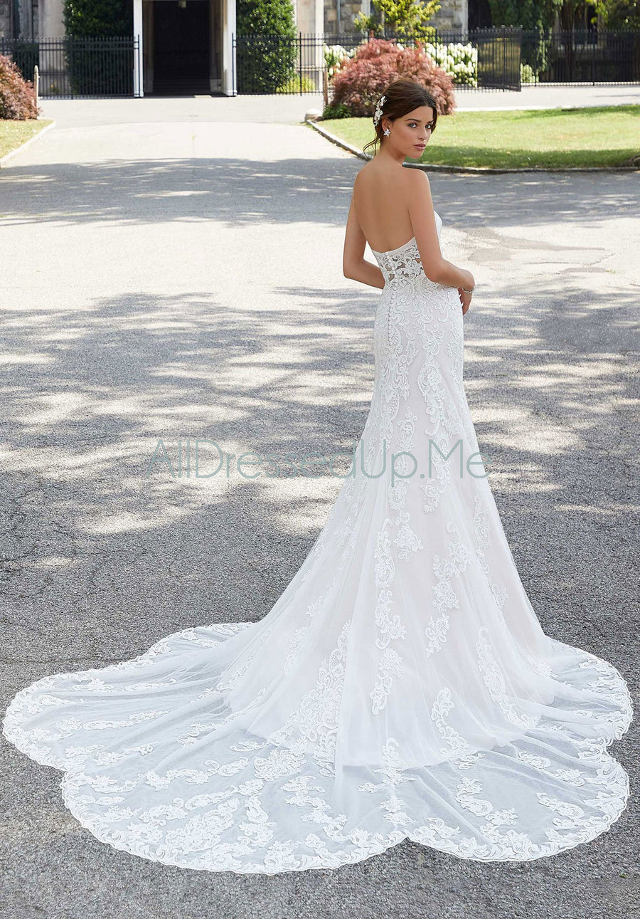 Blu - Shoshanna - 5803 - 5803W - Cheron's Bridal, Wedding Gown - Morilee - - Wedding Gowns Dresses Chattanooga Hixson Shops Boutiques Tennessee TN Georgia GA MSRP Lowest Prices Sale Discount