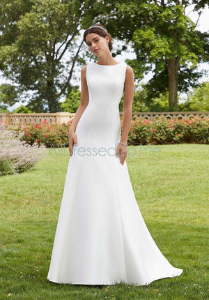 Blu - Sandy - 5804 - Cheron's Bridal, Wedding Gown - Morilee - - Wedding Gowns Dresses Chattanooga Hixson Shops Boutiques Tennessee TN Georgia GA MSRP Lowest Prices Sale Discount