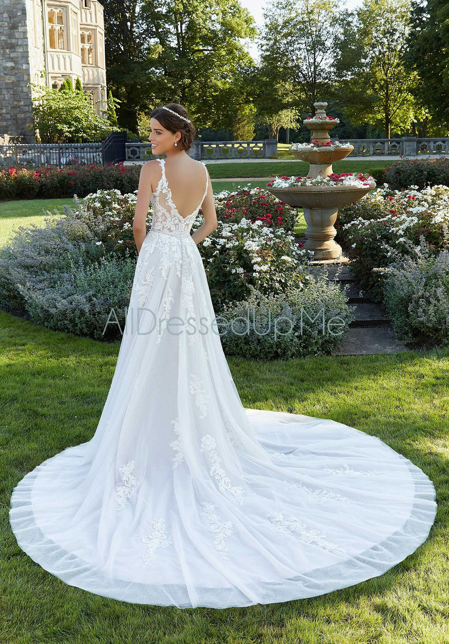 Blu - Sparrow - 5805 - Cheron's Bridal, Wedding Gown - Morilee - - Wedding Gowns Dresses Chattanooga Hixson Shops Boutiques Tennessee TN Georgia GA MSRP Lowest Prices Sale Discount
