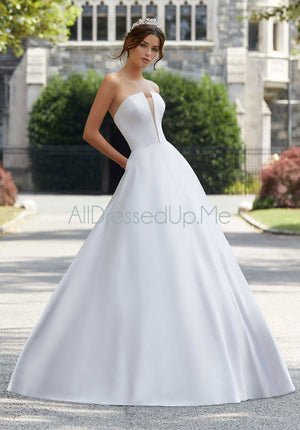 Blu - Shelby - 5807 - All Dressed Up, Bridal Gown - Morilee - - Wedding Gowns Dresses Chattanooga Hixson Shops Boutiques Tennessee TN Georgia GA MSRP Lowest Prices Sale Discount