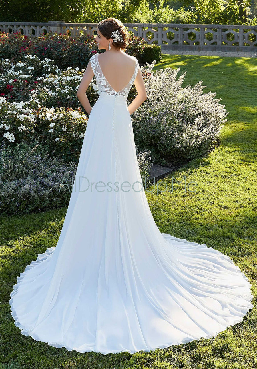 Blu - Sally - 5808 - 5808W - Cheron's Bridal, Wedding Gown - Morilee - - Wedding Gowns Dresses Chattanooga Hixson Shops Boutiques Tennessee TN Georgia GA MSRP Lowest Prices Sale Discount