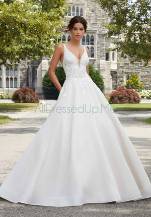 Blu - Sabrina - 5809 - All Dressed Up, Bridal Gown - Morilee - - Wedding Gowns Dresses Chattanooga Hixson Shops Boutiques Tennessee TN Georgia GA MSRP Lowest Prices Sale Discount
