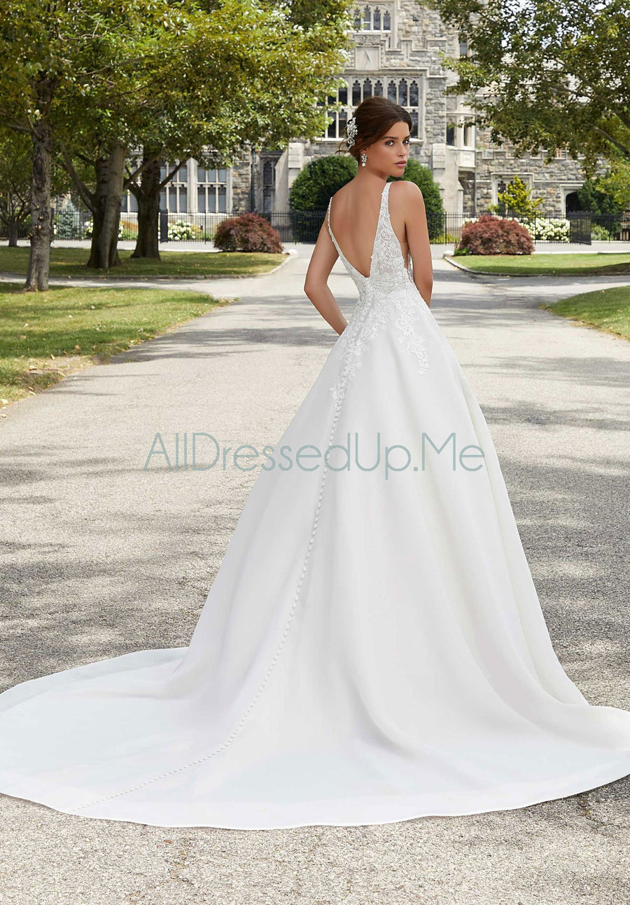 Blu - Sabrina - 5809 - Cheron's Bridal, Wedding Gown - Morilee - - Wedding Gowns Dresses Chattanooga Hixson Shops Boutiques Tennessee TN Georgia GA MSRP Lowest Prices Sale Discount