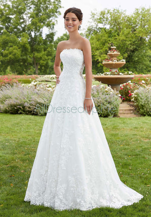 Blu - Susie - 5810 - Cheron's Bridal, Wedding Gown - Morilee - - Wedding Gowns Dresses Chattanooga Hixson Shops Boutiques Tennessee TN Georgia GA MSRP Lowest Prices Sale Discount