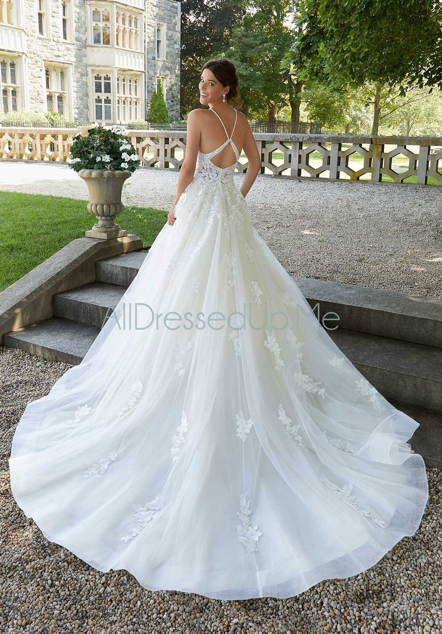 Blu - Sahara - 5811 - Cheron's Bridal, Wedding Gown - Morilee - - Wedding Gowns Dresses Chattanooga Hixson Shops Boutiques Tennessee TN Georgia GA MSRP Lowest Prices Sale Discount