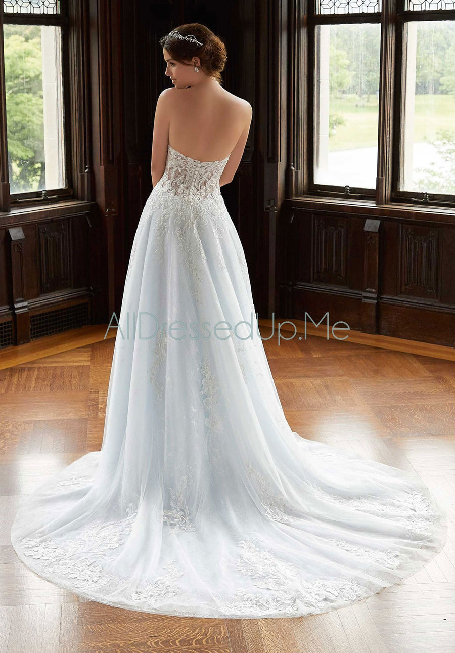 Blu - Shireen - 5813 - Cheron's Bridal, Wedding Gown - Morilee - - Wedding Gowns Dresses Chattanooga Hixson Shops Boutiques Tennessee TN Georgia GA MSRP Lowest Prices Sale Discount