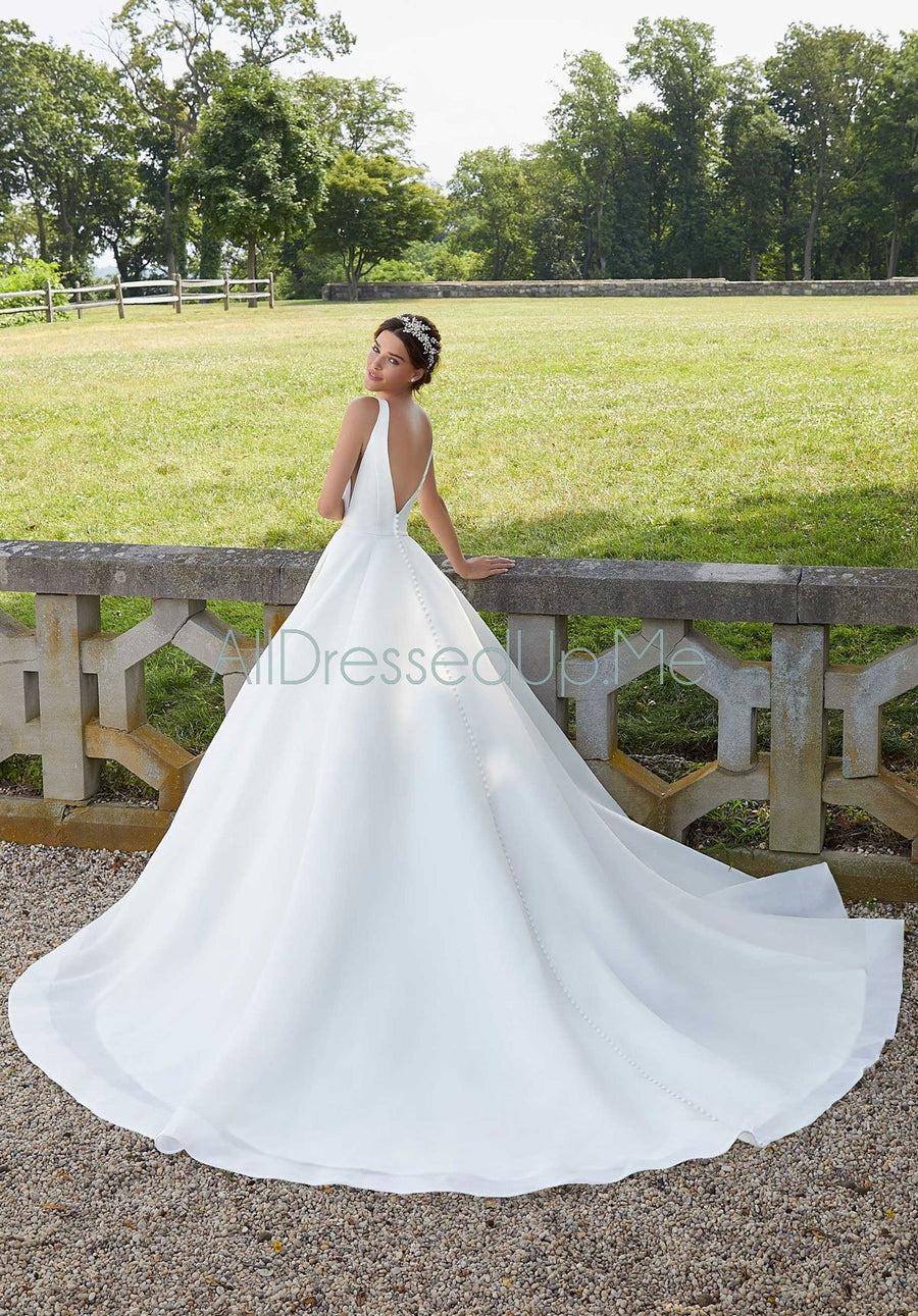 Blu - Sara - 5814 - Cheron's Bridal, Wedding Gown - Morilee - - Wedding Gowns Dresses Chattanooga Hixson Shops Boutiques Tennessee TN Georgia GA MSRP Lowest Prices Sale Discount