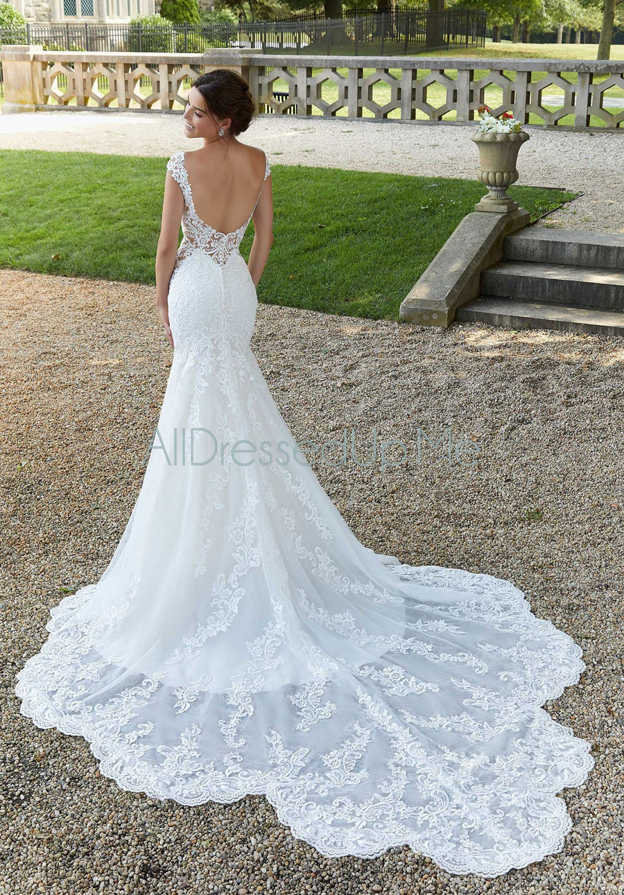 Blu - Shirley - 5815 - Cheron's Bridal, Wedding Gown - Morilee - - Wedding Gowns Dresses Chattanooga Hixson Shops Boutiques Tennessee TN Georgia GA MSRP Lowest Prices Sale Discount
