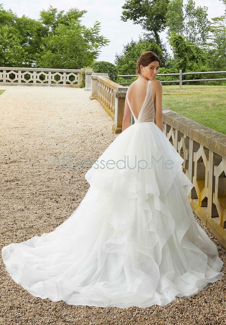 Blu - Stella - 5818 - Cheron's Bridal, Wedding Gown - Morilee - - Wedding Gowns Dresses Chattanooga Hixson Shops Boutiques Tennessee TN Georgia GA MSRP Lowest Prices Sale Discount