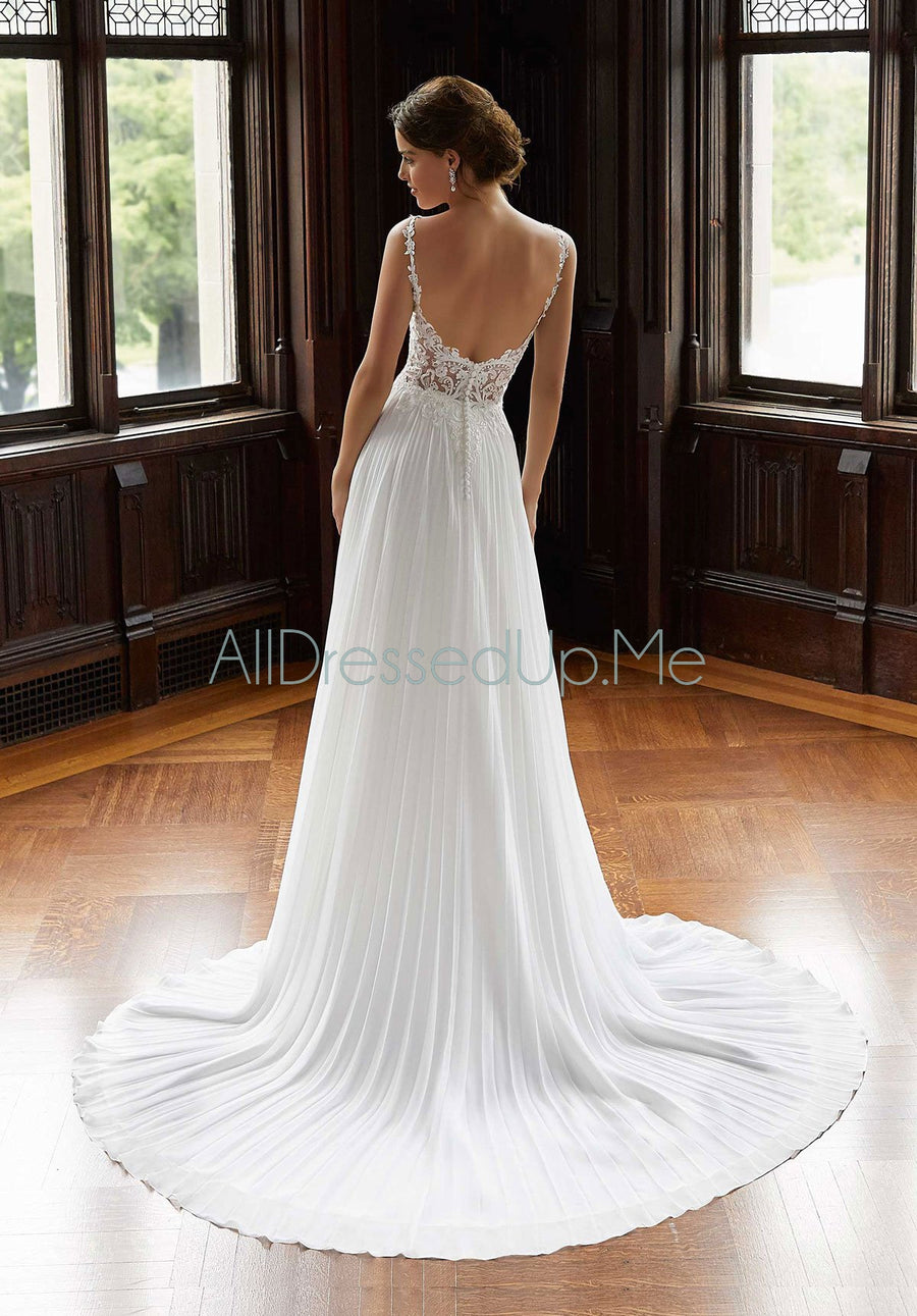 Blu - Shannon - 5819 - Cheron's Bridal, Wedding Gown - Morilee - - Wedding Gowns Dresses Chattanooga Hixson Shops Boutiques Tennessee TN Georgia GA MSRP Lowest Prices Sale Discount