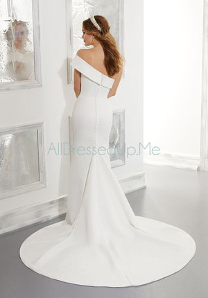 Blu - Ada - 5861 - Cheron's Bridal, Wedding Gown - Morilee - - Wedding Gowns Dresses Chattanooga Hixson Shops Boutiques Tennessee TN Georgia GA MSRP Lowest Prices Sale Discount