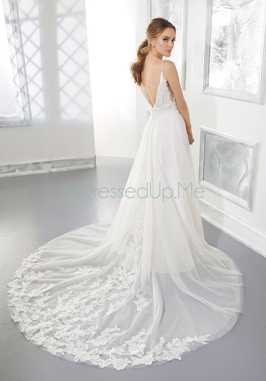 Blu - Autumn - 5862 - Cheron's Bridal, Wedding Gown - Morilee - - Wedding Gowns Dresses Chattanooga Hixson Shops Boutiques Tennessee TN Georgia GA MSRP Lowest Prices Sale Discount