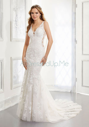 Blu - Alessia - 5863 - Cheron's Bridal, Wedding Gown - Morilee - - Wedding Gowns Dresses Chattanooga Hixson Shops Boutiques Tennessee TN Georgia GA MSRP Lowest Prices Sale Discount