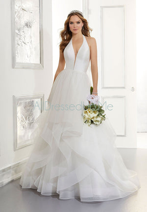 Blu - Arabella - 5866 - Cheron's Bridal, Wedding Gown - Morilee - - Wedding Gowns Dresses Chattanooga Hixson Shops Boutiques Tennessee TN Georgia GA MSRP Lowest Prices Sale Discount