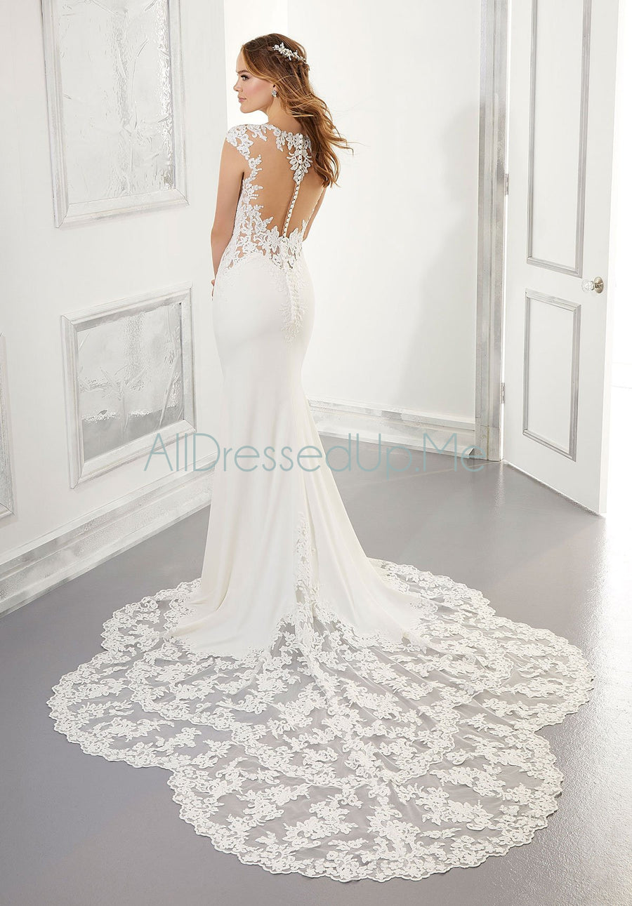 Blu - Aisha - 5868 - Cheron's Bridal, Wedding Gown - Morilee - - Wedding Gowns Dresses Chattanooga Hixson Shops Boutiques Tennessee TN Georgia GA MSRP Lowest Prices Sale Discount