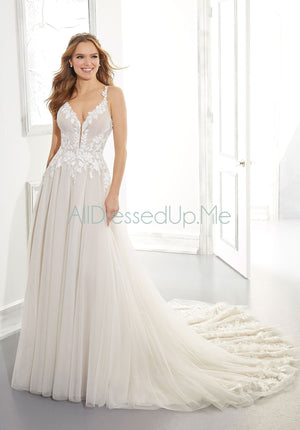 Blu - Artemis - 5871 - Cheron's Bridal, Wedding Gown - Morilee - - Wedding Gowns Dresses Chattanooga Hixson Shops Boutiques Tennessee TN Georgia GA MSRP Lowest Prices Sale Discount