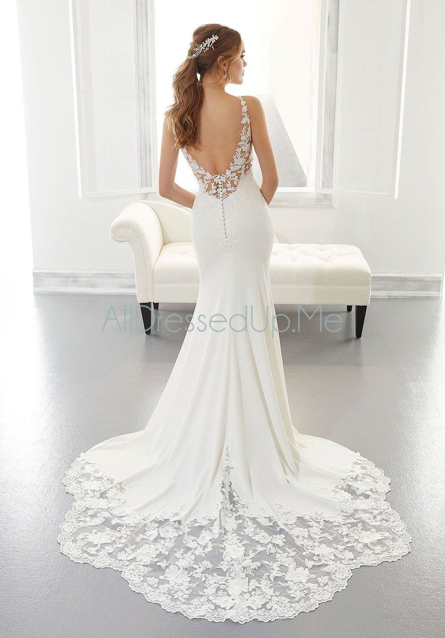 Blu - Annika - 5872 - Cheron's Bridal, Wedding Gown - Morilee - - Wedding Gowns Dresses Chattanooga Hixson Shops Boutiques Tennessee TN Georgia GA MSRP Lowest Prices Sale Discount