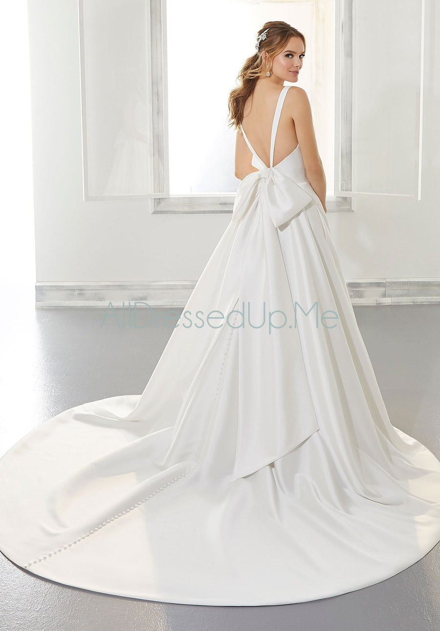 Blu - Amy - 5875 - Cheron's Bridal, Wedding Gown - Morilee - - Wedding Gowns Dresses Chattanooga Hixson Shops Boutiques Tennessee TN Georgia GA MSRP Lowest Prices Sale Discount