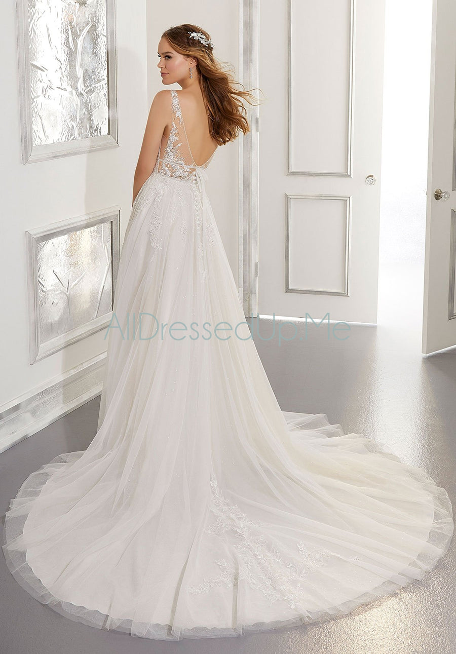 Blu - Angela - 5879 - 5879W - Cheron's Bridal, Wedding Gown - Morilee - - Wedding Gowns Dresses Chattanooga Hixson Shops Boutiques Tennessee TN Georgia GA MSRP Lowest Prices Sale Discount