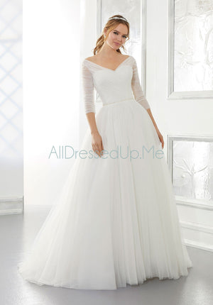 Blu - Amelia - 5880 - Cheron's Bridal, Wedding Gown - Morilee - - Wedding Gowns Dresses Chattanooga Hixson Shops Boutiques Tennessee TN Georgia GA MSRP Lowest Prices Sale Discount