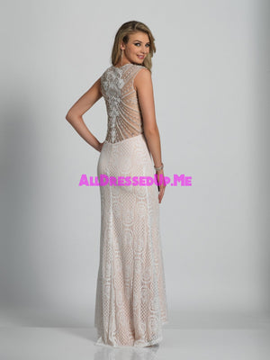 Dave & Johnny - A5982 - All Dressed Up, Prom/Party - - Dresses Two Piece Cut Out Sweetheart Halter Low Back High Neck Print Beaded Chiffon Jersey Fitted Sexy Satin Lace Jeweled Sparkle Shimmer Sleeveless Stunning Gorgeous Modest See Through Transparent Glitter Special Occasions Event Chattanooga Hixson Shops Boutiques Tennessee TN Georgia GA MSRP Lowest Prices Sale Discount