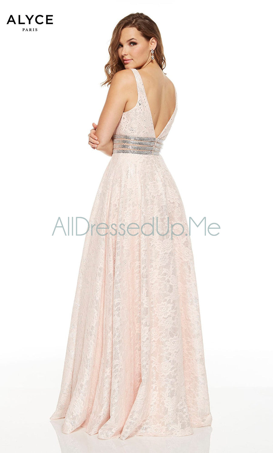 Alyce Paris - 60757 - All Dressed Up, Prom/Party Dress - - Dresses Two Piece Cut Out Sweetheart Halter Low Back High Neck Print Beaded Chiffon Jersey Fitted Sexy Satin Lace Jeweled Sparkle Shimmer Sleeveless Stunning Gorgeous Modest See Through Transparent Glitter Special Occasions Event Chattanooga Hixson Shops Boutiques Tennessee TN Georgia GA MSRP Lowest Prices Sale Discount