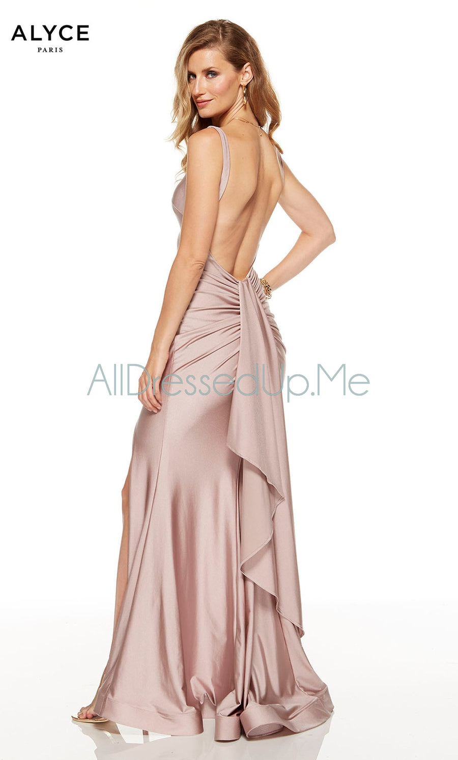 Alyce Paris - 60765 - All Dressed Up, Prom/Party Dress - - Dresses Two Piece Cut Out Sweetheart Halter Low Back High Neck Print Beaded Chiffon Jersey Fitted Sexy Satin Lace Jeweled Sparkle Shimmer Sleeveless Stunning Gorgeous Modest See Through Transparent Glitter Special Occasions Event Chattanooga Hixson Shops Boutiques Tennessee TN Georgia GA MSRP Lowest Prices Sale Discount