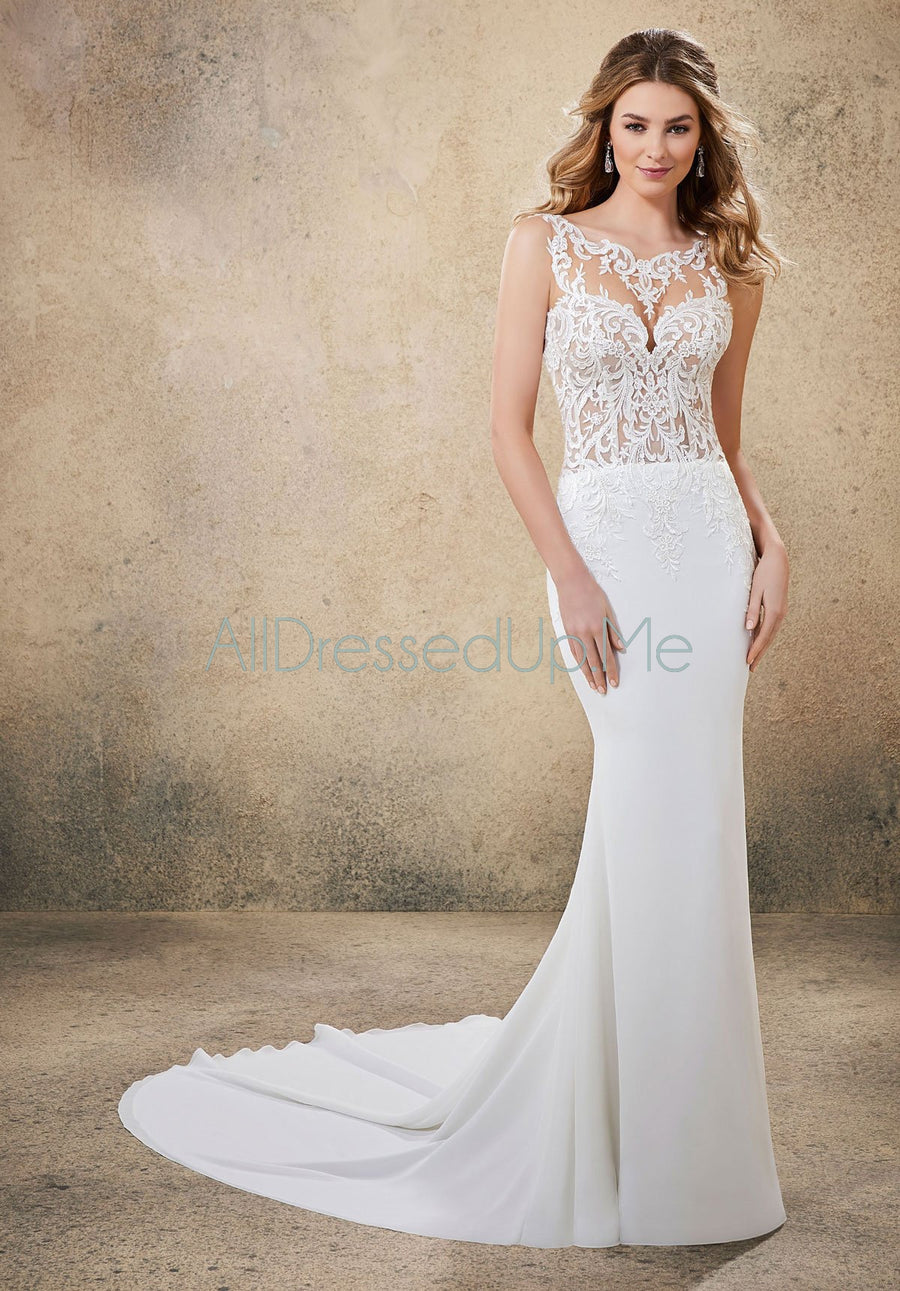 Voyage - Rebel - 6912 - Cheron's Bridal, Wedding Gown - Morilee - - Wedding Gowns Dresses Chattanooga Hixson Shops Boutiques Tennessee TN Georgia GA MSRP Lowest Prices Sale Discount