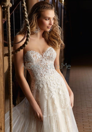 Voyage - Ricki - 6913 - Cheron's Bridal, Wedding Gown - Morilee - - Wedding Gowns Dresses Chattanooga Hixson Shops Boutiques Tennessee TN Georgia GA MSRP Lowest Prices Sale Discount