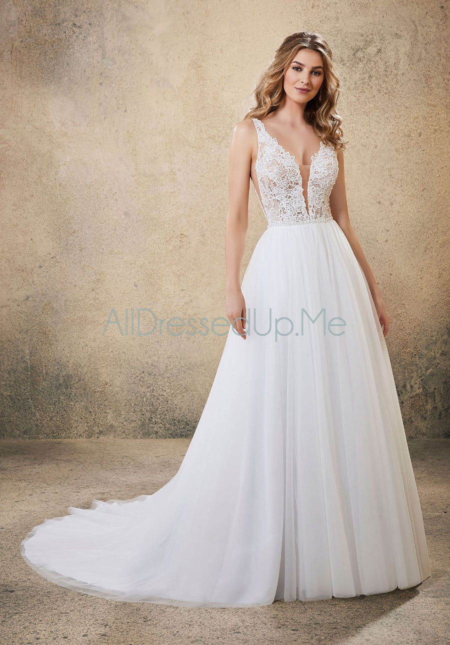 Voyage - Raven - 6914 - Cheron's Bridal, Wedding Gown - Morilee - - Wedding Gowns Dresses Chattanooga Hixson Shops Boutiques Tennessee TN Georgia GA MSRP Lowest Prices Sale Discount