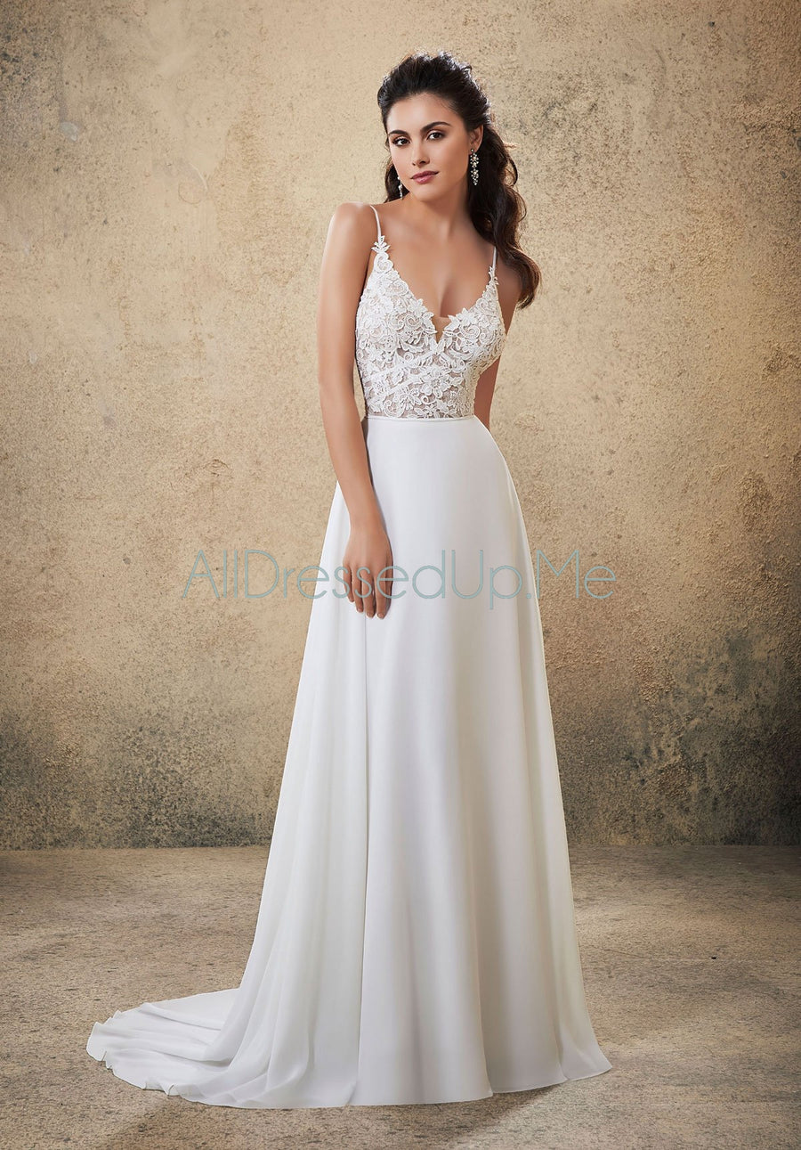 Voyage - Roxie - 6915 - Cheron's Bridal, Wedding Gown - Morilee - - Wedding Gowns Dresses Chattanooga Hixson Shops Boutiques Tennessee TN Georgia GA MSRP Lowest Prices Sale Discount