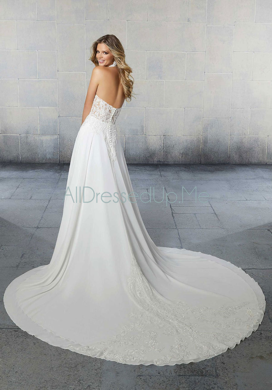 Voyage - Sierra - 6924 - Cheron's Bridal, Wedding Gown - Morilee - - Wedding Gowns Dresses Chattanooga Hixson Shops Boutiques Tennessee TN Georgia GA MSRP Lowest Prices Sale Discount