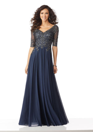MGNY - 71822 - All Dressed Up, Mother/Party Dress
