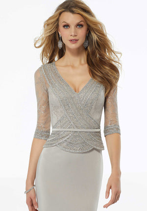 MGNY - 72117 - All Dressed Up, Mother/Party Dress