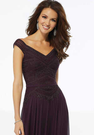 MGNY - 72134 - All Dressed Up, Mother/Party Dress