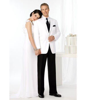 Platinum - 742 - White La Strada - All Dressed Up, Tuxedo Rental
