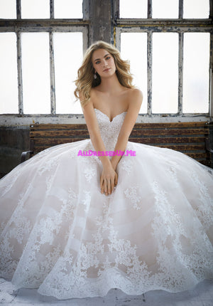 Morilee - 8211 - Kimberley - All Dressed Up, Bridal Gown - Morilee - - Wedding Gowns Dresses Chattanooga Hixson Shops Boutiques Tennessee TN Georgia GA MSRP Lowest Prices Sale Discount